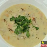 طرز تهیه سوپ کرمی مرغ خوشمزه مجلسی به ۳ روش مرحله به مرحله + نکات پخت