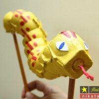 آموزش ساخت ۲۲ مدل کاردستی با شانه تخم مرغ برای کودکان