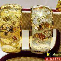 ۴۰ عکس از زیباترین مدل النگو تک پوش طلا جدید ۲۰۱۹ ۹۸