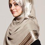 10 مدل آموزش بستن شال و روسری گره از بغل مرحله به مرحله