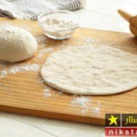 طرز تهیه خمیر پیتزا بدون مخمر به صورت مرحله به مرحله