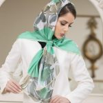 40 عکس از زیباترین مدل شال و روسری مجلسی جدید 2018 97 شیک و اسپرت