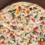 طرز تهیه پیتزا سبزیجات خوشمزه مرحله به مرحله تصویری + نکات پخت