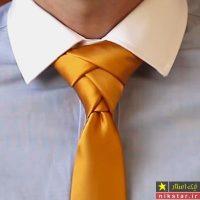 12 آموزش تصویری بستن کراوات شیک مجلسی و ساده مرحله به مرحله